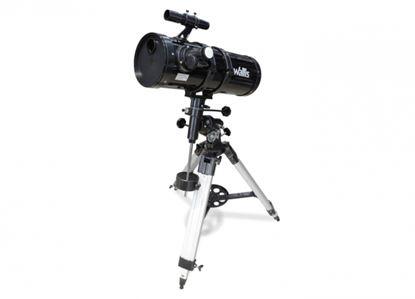 Imagen de WALLIS - TELESCOPIO REFLECTOR CON MONTURA ECUATORIAL, 430X Y 150 MM DE APERTURA, NEGRO