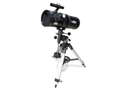 Imagen de WALLIS - TELESCOPIO REFLECTOR CON MONTURA ECUATORIAL, AMP. 430X, APERTURA 150 MM, NEGRO