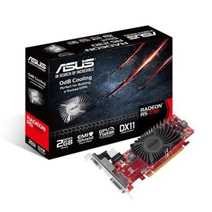 Imagen de ASUS - TARJETA D VIDEO ASUS ATI RADEON R5-230 2GB DDR3 80 NUCLEOS VGA/