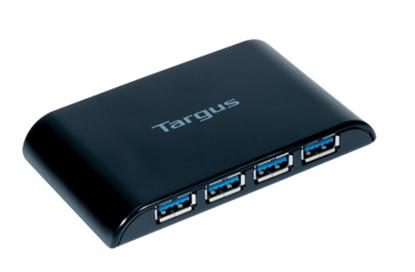 Imagen de TARGUS - HUB DE 4 PUERTOS USB 3.0 SIN ADAPTADOR DE CORRIENTE