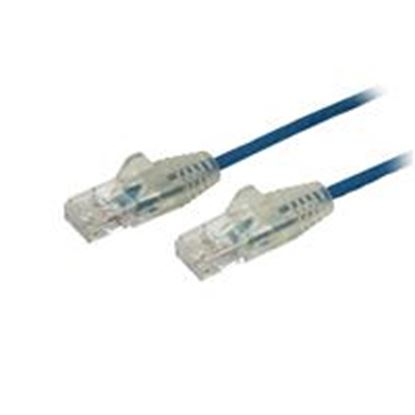 Imagen de PAQ. C/10 - STARTECH - CABLE 15CM RED ETHERNET CAT6 SIN ENGANCHES SNAGLESS AZUL