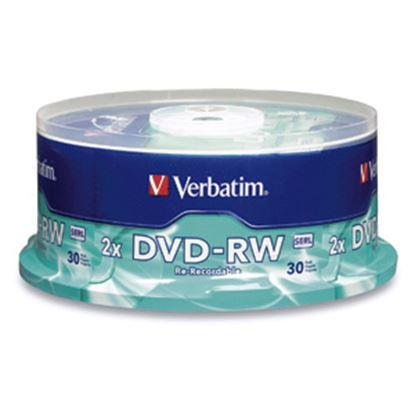 Imagen de VERBATIM - DVD-RW 4X 4.7GB 120MIN REGRABAB 30 PZAS CAMPANA VERBATIM