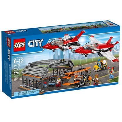 Imagen de LEGO - 60103 LEGO CITY AIRPORT AIR SHOW 670 PZAS