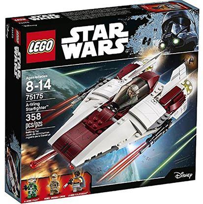 Imagen de LEGO - 75175 STAR WARS A-WING STARFIGHTER 358 PZAS
