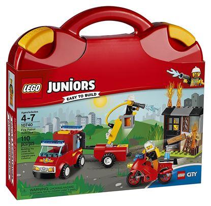 Imagen de LEGO - 10740 LEGO JUNIORS FIRE PATROL SUITCASE