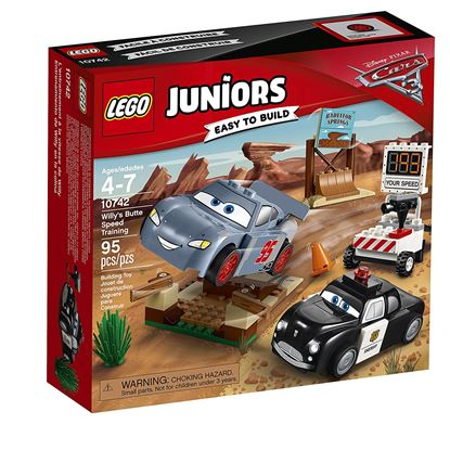 Imagen de LEGO - 10742 LEGO JUNIORS DISNEY CARS 3 WILLYS BUTTE SPEED TRAINING 95 PZAS