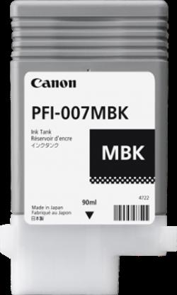 Imagen de CANON - CANON INK TANK PFI-007MBK PIGMENT MATTE BLACK INK TANK 90ML