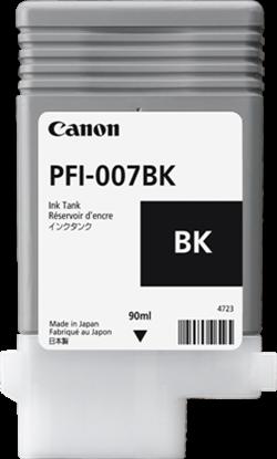 Imagen de CANON - CANON INK TANK PFI-007BK DYE BLACK INK TANK 90ML