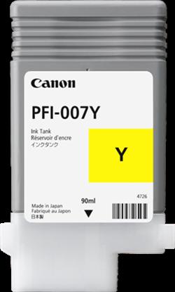 Imagen de CANON - CANON INK TANK PFI-007Y DYE YELLOW INK TANK 90MLá