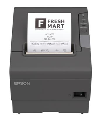 Imagen de EPSON - EPSON MINIPRINTER TM-T88V-084 NEGRA/SERIAL/USB/RECIBO/FUENTE