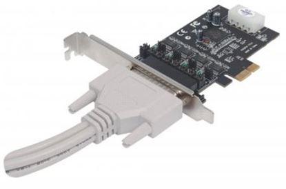 Imagen de IC - TARJETA SERIAL PCI EXPRESSCON A DAPTADOR 4 PUERTOS DB9