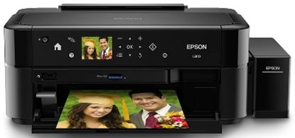 Imagen de EPSON - IMPRESORA FOTO L810 37/38PPM 5760X1440 USB CD/DVD LECTOR TARJETA