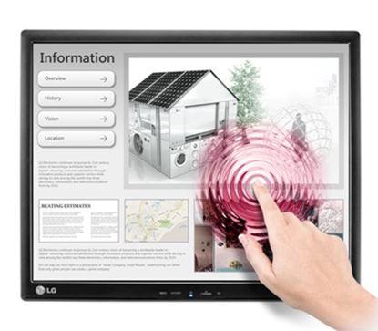 Imagen de LG - MONITOR LG LCD 17 TOUCH SCR TN 5:4 1280*1024 VGA