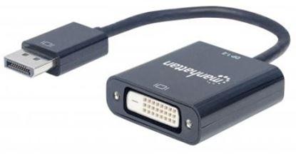 Imagen de IC - CABLE ADAPTADOR CONVERTIDOR DISPLAYPORT A DVI-D 1080P M-H