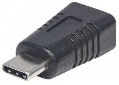 Imagen de IC - ADAPTADOR CONVERTIDOR USB-C A USB MINI-B MACHO-HEMBRA