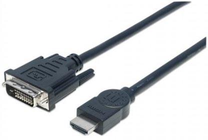 Imagen de IC - CABLE ADAPTADOR CONVERTIDOR HDMI A DVI-D 3.0M 1080P M-M MONITOR
