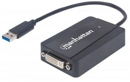 Imagen de IC - CABLE ADAPTADOR CONVERTIDOR USB 3.0 A DVI-I 1080P M-H
