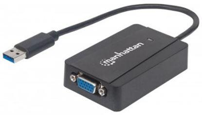 Imagen de IC - CABLE ADAPTADOR CONVERTIDOR USB 3.0 A SVGA 1080P M-H