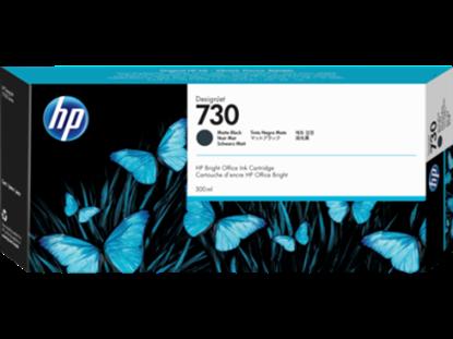 Imagen de HEWLETT PACKARD - HP 730 NEGRO MATTE 300ML TINTA AMPLIO FORMATO P2V71A