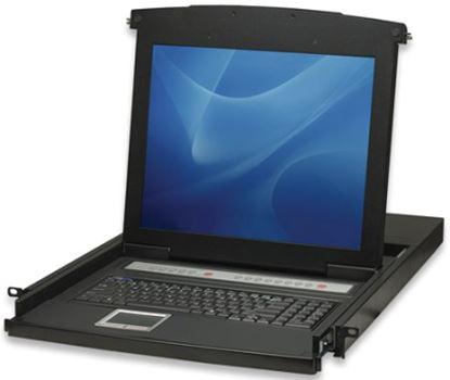 "Imagen de INTELLINET - MUX KVM RACKMOUNT  8:1 PS2/USB  LCD 17"""