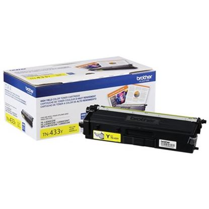 Imagen de BROTHER - TONER AMARILLO 4 000 PAG. MFCL8900CDW