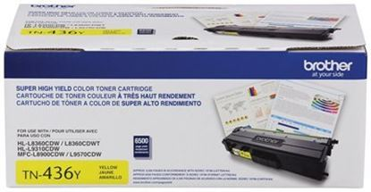 Imagen de BROTHER - TONER AMARILLO 6 500 PAG. HLL9 310CDW MFCL8900CDW MFCL9570CDW
