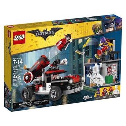 Imagen de LEGO - 70921 THE BATMAN MOVIE HARLEY QUINN CANNONBALL ATTACK 425 PZAS