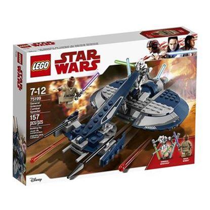 Imagen de LEGO - 75199 STAR WARS GENERAL GRIEVOUS COMBAT SPEEDER 157 PZAS