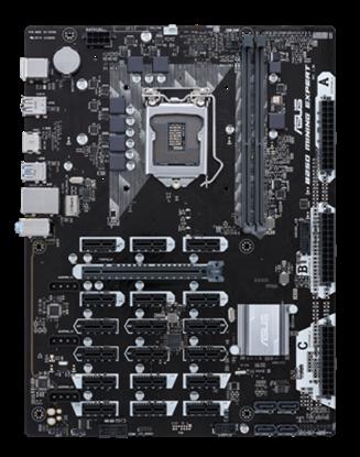 Imagen de ASUS - MB ASUS INTEL LGA-1151 ATX MINING 19 PCIES SLOTS ATX12V