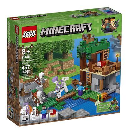 Imagen de LEGO - 21146 MINECRAFT THE SKELETON ATTACK 457 PZAS