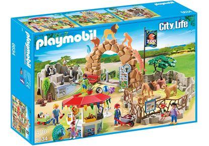 Imagen de PLAYMOBIL - 6634 CITY LIFE GRAN ZOO 175 PZAS