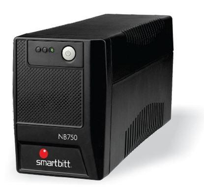 Imagen de SMARTBITT - NOBREAK SMARTBITT 750VA/375W INTERACTIVO 6 CONT. LED 35 MIN RESP