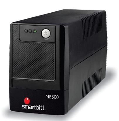 Imagen de SMARTBITT - NOBREAK SMARTBITT 500VA/250W INTERACTIVO 4 CONT. LED 25 MIN RESP