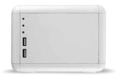 Imagen de SMARTBITT - REGULADOR SMARTBITT 1 500VA/750 WATTS 4 CONTACTOS LED USB