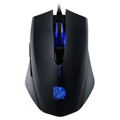 Imagen de EVOLVING - MOUSE GAMING TTESPORT TALON BLU INFRAROJO OPTICO 3000DPI LED IL