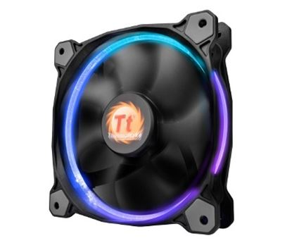 Imagen de EVOLVING - VENTILADOR THERMALTAKE RIING RGB 256 COLORS 140MM LOW NOISE FA