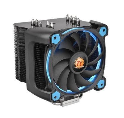 Imagen de EVOLVING - DISIPADOR THERMALTAKE RIING SIL ENT 12 PRO AZUL CPU AIR COOLER 1500