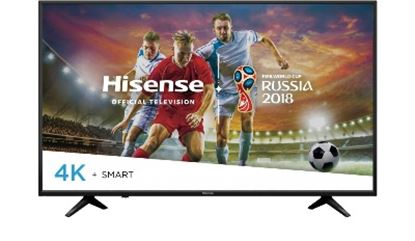 Imagen de HISENSE - TV LED 55 HISENSE UHD (4K) SMART 4HDMI 2USB 2 YEARS GTIA