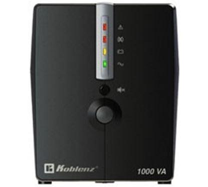 Imagen de KOBLENZ - NOBREAK 10017 USB/R 1000VA/500 RESPALDO 60 MIN 8 CONTACTOS GTIA 3A
