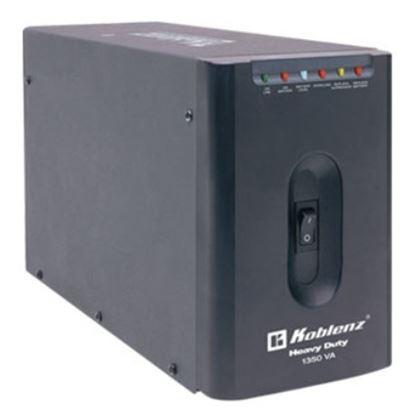 Imagen de KOBLENZ - NOBREAK 13507-USB/R 1350VA 800W 7CONTACTOS RESPALDO 170 MIN