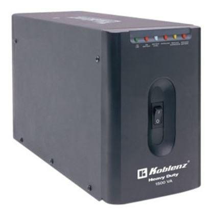 Imagen de KOBLENZ - NOBREAK 15007-USB/R 1500VA 900W 7CONTACTOS RESPALDO 180 MIN