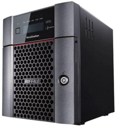 Imagen de BUFFALO - NAS TERASTATION 5410DN 4BAY 24TB (4X6TB) RAID 1/5/6 ISCSI 10GBE