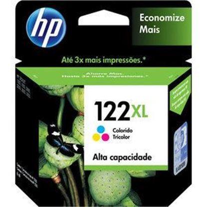 Imagen de HEWLETT PACKARD - HP 122XL TRI-COLOR INK CARTRI DGE CH564HL