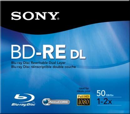 Imagen de SONY - CAJA CON 1 PZS BLU-RAY SONY JEWEL CASE 50GB 2X F/HD RE-GRABABLE