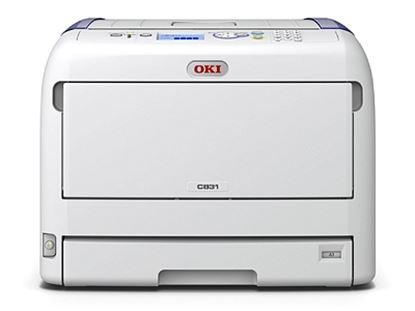 Imagen de OKIDATA - OKIDATA IMP LED COL C831N TABLO 35PPM COL/MON 1200X600 256MB RAM