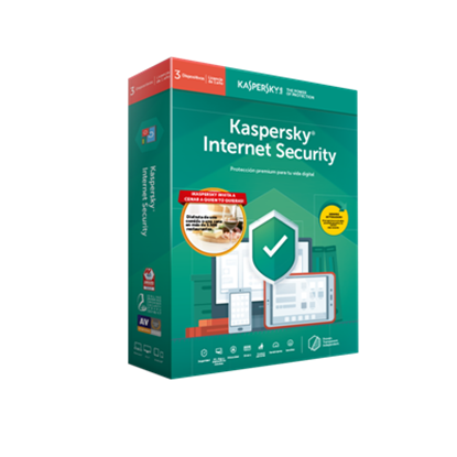 Imagen de KL - KASPERSKY INTERNET SECURITY 1+1 USER 1 YR