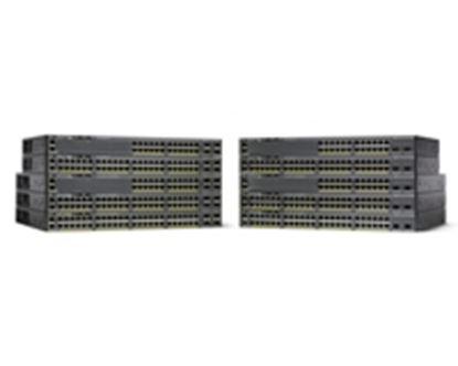 Imagen de CISCO - CATALYST 2960-X 24 GIGE POE 370W 4 X 1G SFP LAN BAS