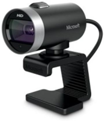 Imagen de MICROSOFT - WEBCAM CINEMA MICROSOFT 720HD VIDEO MICROFONO USB PC SKYPE