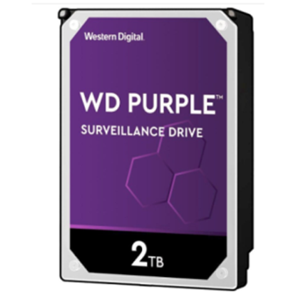 Imagen de TOSHIBA - DISCO DURO INTERNO 3.5 2TB SATA 6GB 5400RPM 64MB WD PURPLE