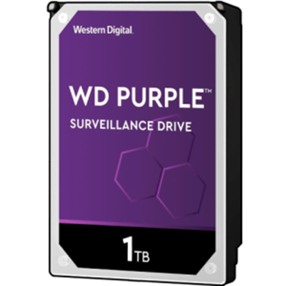 Imagen de TOSHIBA - DISCO DURO INTERNO 3.5 1TB SATA 6GB 5400RPM 64MB WD PURPLE